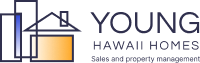 Young Hawaii Homes  abstract logo